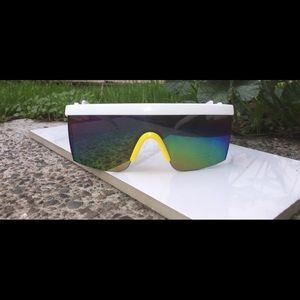 Vintage Retro Reflective Sport Sunglasses